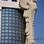 Art Deco building near hotel