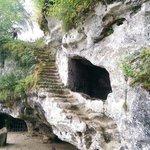 Plus grand escalier troglodytique