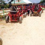 start of buggy and quad tour