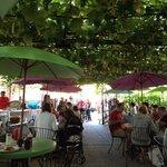 Neighborhood Restaurant-under the canopy