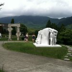 It's impossible to fully capture the true character of the Hakone Open Air Museum in a pic.