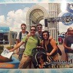 Family Vacation at Sea World