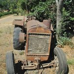 One of the many old farmyard relics