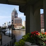 view of the Riverside Walk from Wisconsin Avenue