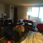 2 queen room, very large