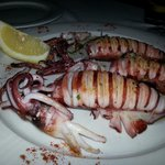 Calamares de potera a la plancha