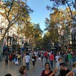 Las ramblas- Barcellona