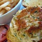Crab Cake Sandwich