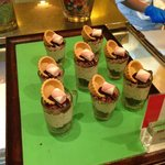 Buffet themed desserts