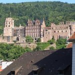 View of The Heidelberg Castle