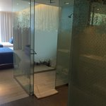 Amazing shower! Loved the dual sinks