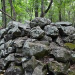 Rock Pile on Fox Hollow Trail