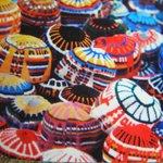 Knitted caps, Marrakesh shuk