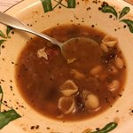 Minestrone soup tasted like from a can
