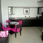Living area Rose Suite