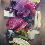Charcuterie platter for one