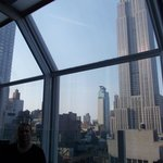 la vue sur l'Empire State Building