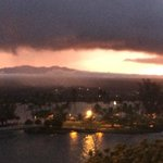 Sunset over Hilo Bay