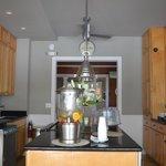 Beautiful kitchen area