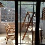 Balcony on room 301