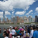 The ferry ride, Manhattan Sky Line