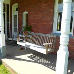 Porch Swing Back