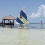 vc pode velejar com equipamento do hotel