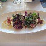 Fig salad amazing !