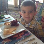 My son loves the kid friendly appetizers - and delicious kids meals that are sustainable and fre