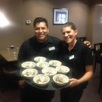 Awesome waitstaff and my favorites, Victor and Sefany