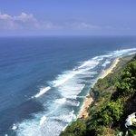 Cliff View from Beach Bar