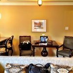 Table and Chairs in One Bedroom Suite