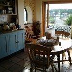 Clare's wonderful kitchen