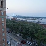 View from atop the Hampton Inn