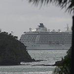 Cruise ship in the Bay.