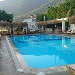Beautiful cute swimming pool