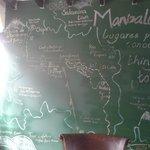 Un perfecto mapa con todos los lugares hermosos por visitar