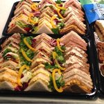 Sandwiches for 12.