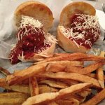 Meatball Slider & fries special