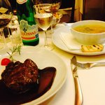 Filet Mignon and Vegetable Soup