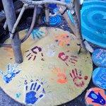 Washroom Tile - All our handprints