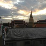 View from roof looking towards Grand Palace