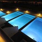 piscines privées nuits