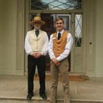 Docents at house