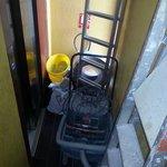 l'accesso all'ascensore