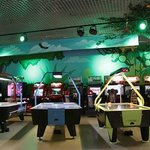 В Космике можно поиграть в аэрохоккей