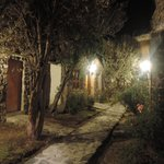 i vialetti tra le camere di notte