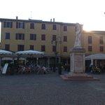 Blick von der Piazzamitte