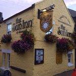 Sun Inn at Sunset!!