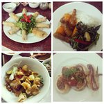 Some of the dishes we made